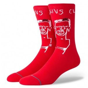 Stance x Basquiat Cassius Socks Large 9-12 NEW!